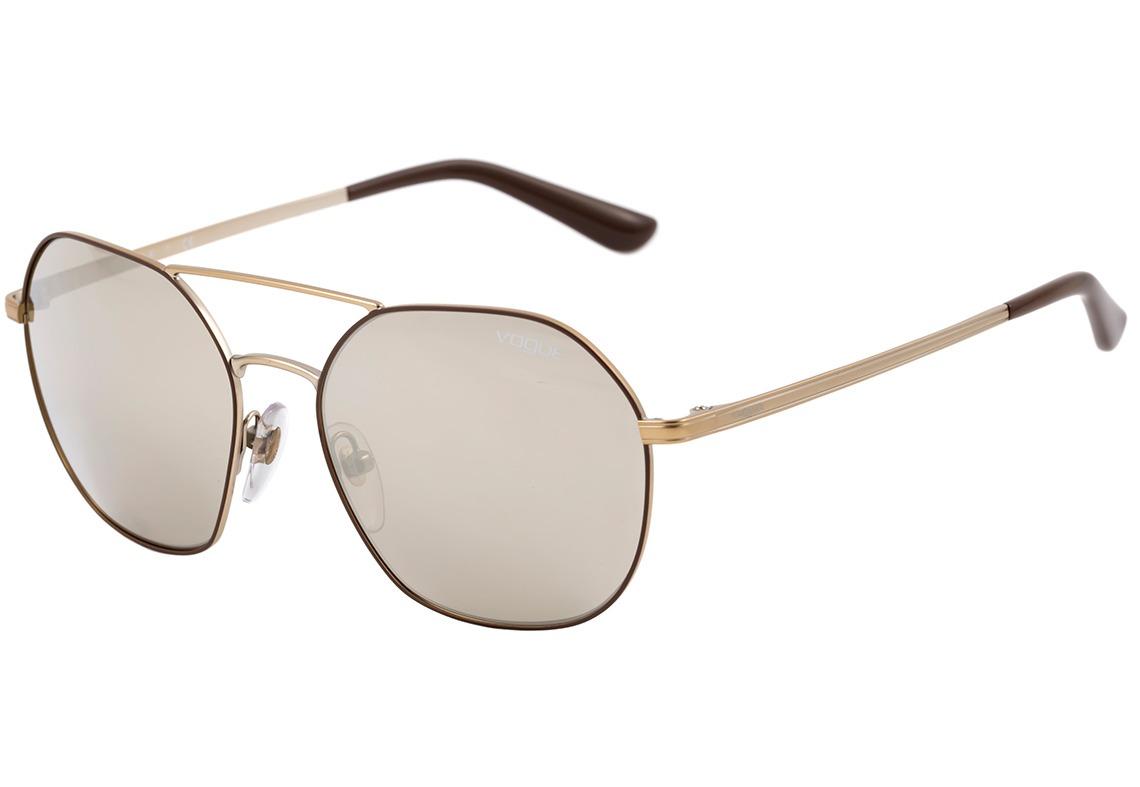 vogue vo 4022 s - óculos de sol 50215a dourado e marrom. Carregando zoom. 54f4fb66cd