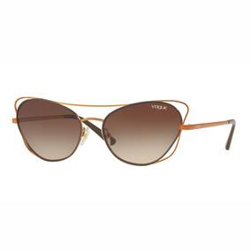 19e8450d7 Vogue Vo 4080 S - Óculos De Sol 848/5a Dourado Brilho/ Doura. São Paulo · Vogue  Vo 4070s Óculos De Sol