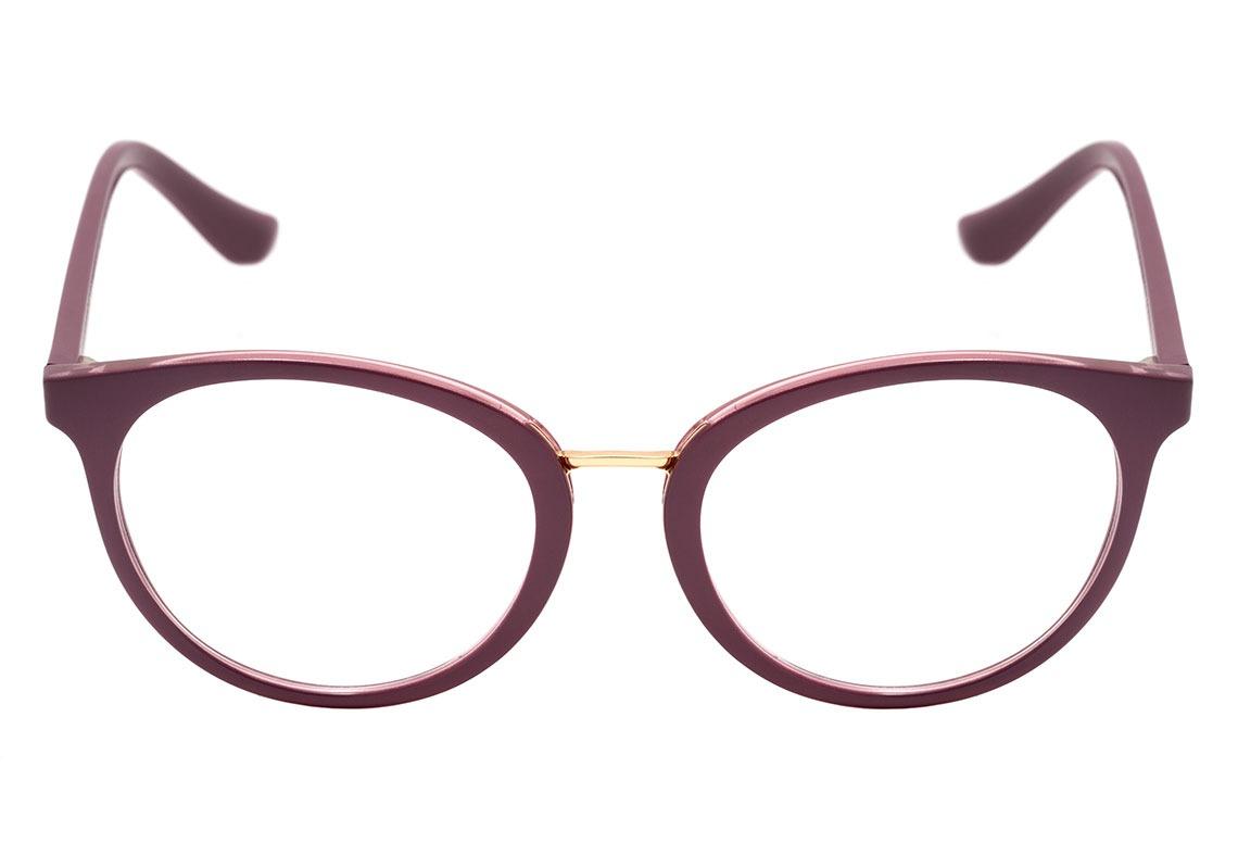 95b37035174aa vogue vo 5167 l - óculos de grau 2554 roxo e dourado brilho. Carregando  zoom.