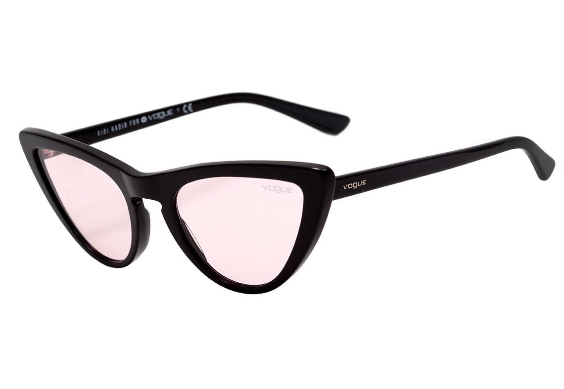 346e60207051a vogue vo 5211 s gigi hadid - óculos de sol w44 5 preto. Carregando zoom.