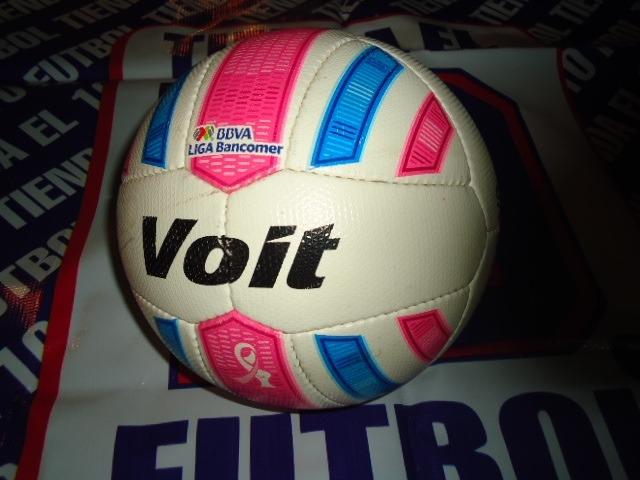 Voit Cancer De Mama 2014 Balon Futbol Liga Mx -   1 1bd134b3e29e2