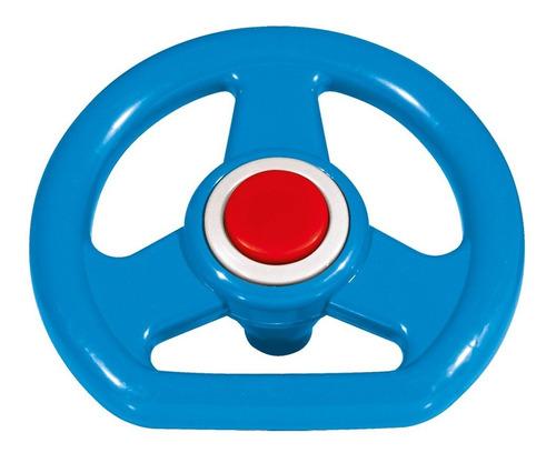 volante azul linha policar® - 7744