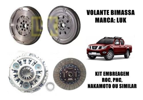 volante bimassa kit embreagem frontier sel 2.5 2013... 193cv