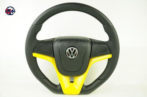 volante camaro amarelo golf 2.0 mi total flex 2010 esportivo