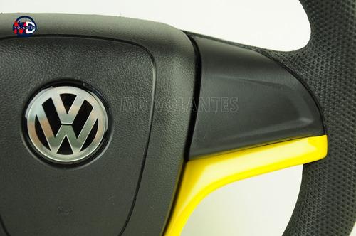 volante camaro amarelo golf gt 2.0 total flex 2013 esportivo