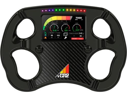 volante com dash 4.3 integrado tdl 4.3 sw