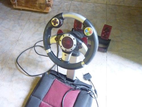 volante con asiento gamester o permuto