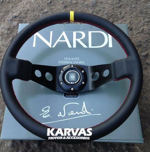 volante deportivo nardi cuero 2 puntas drifting exclusivo