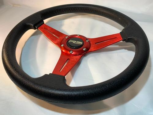 volante deportivo tuning auto racing auto rojo vd101 r120