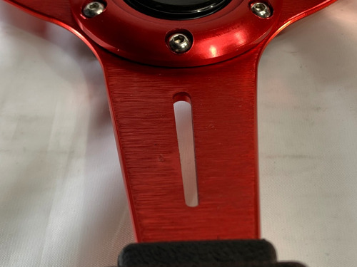 volante deportivo tuning racing auto rojo mate vdsr11-20