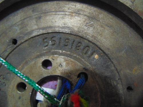 volante do motor/ cremalheira - uno fire 1.0 8v - t 4202 k