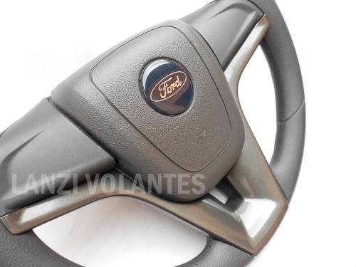 volante esportivo cruze + cubo ford f100 f1000 f75 grafite