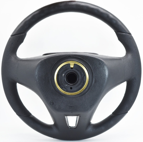 volante esportivo cruze prata prisma 2008-2012 completo