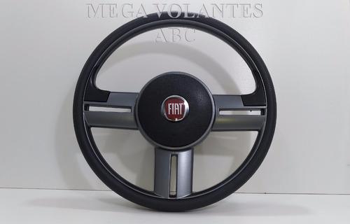 volante esportivo rallye fiat palio siena strada + cubo