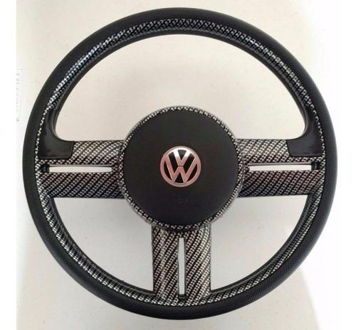 volante esportivo rallye fibra carbono gol parati g1 c/ cubo