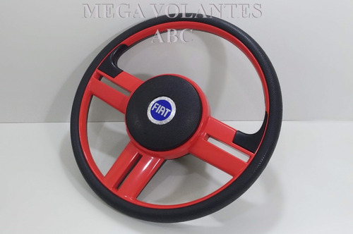 volante esportivo rallye palio siena strada cubo+tapetes 4pç