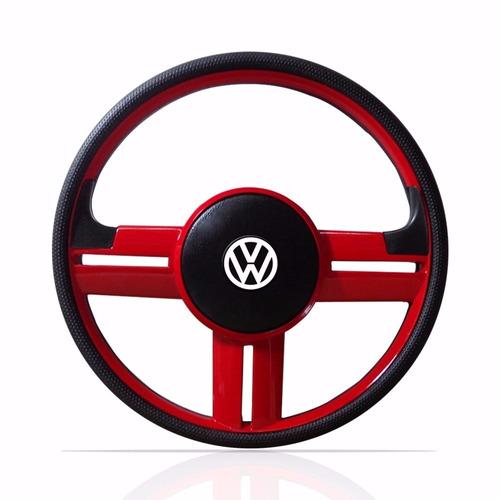 volante esportivo rallye vermelho gol parati g2 g3 g4 c/cubo