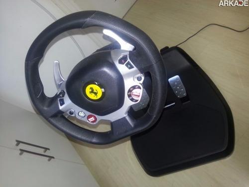 volante ferrari cockpit vibration 458 pc/xbox