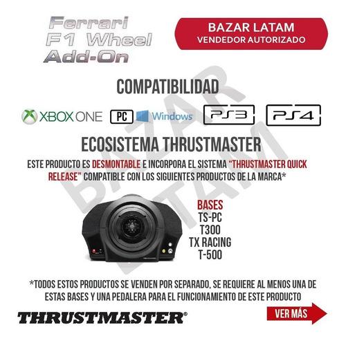 volante ferrari f1 thrustmaster add on pc ps4 xbox