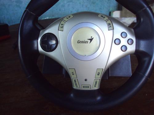 volante genius para juegos ps1 ps2 ps3 y pc