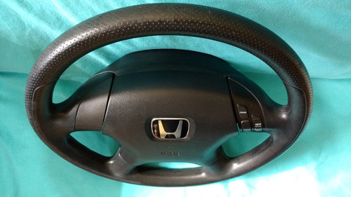 volante honda civic accord crv airbag controles