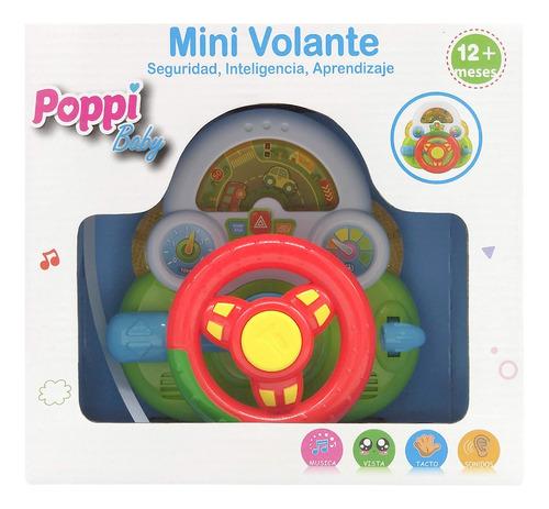 volante interactivo con luces primera infancia poppi 6755