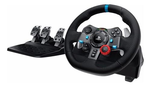 volante logitech g29 con pedalera línea g pc ps3 y ps4 amv