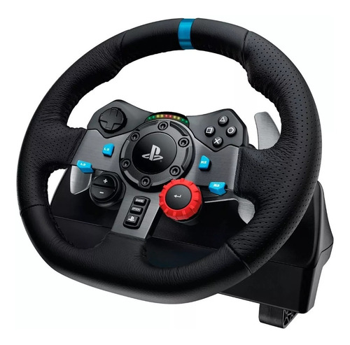 volante logitech g29 driving force con pedales para ps3 ps4