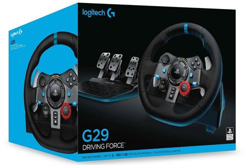 volante logitech g29 driving force para ps4/pc