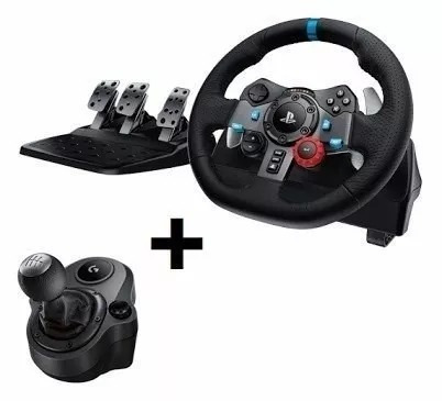 volante logitech g29 driving force ps4/ps3/pc + cambio