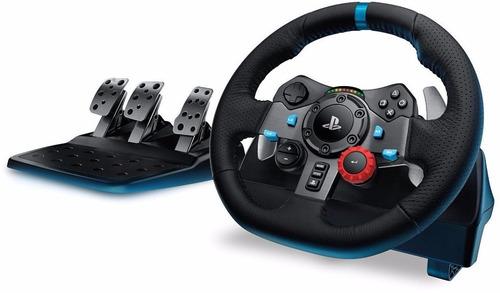volante logitech g29 pedalera pc ps4 ps3 feedback