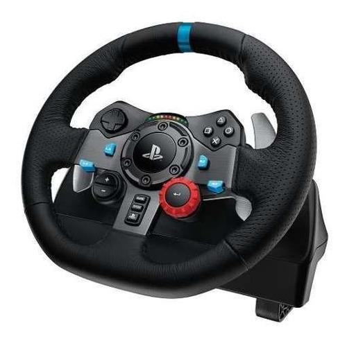 volante logitech g29 pedalera ps4 ps3 profesional + palanca