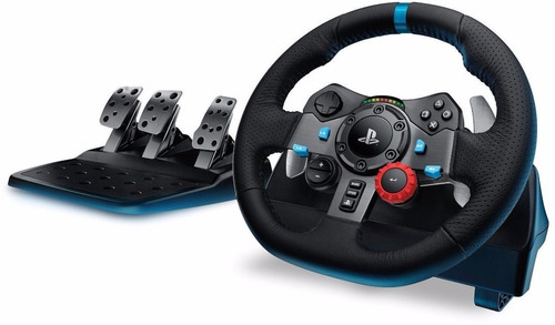 volante logitech g29 ps4 ps3 pc driving force pedalera