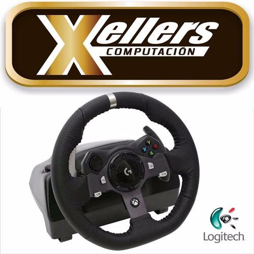 volante logitech g920 pedalera xbox one pc prof