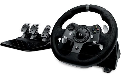 volante logitech g920 racing para xbox one e pc