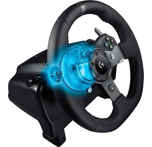 volante logitech g920 racing para xbox one e pc - garantia de 2 anos direto com a ligitech
