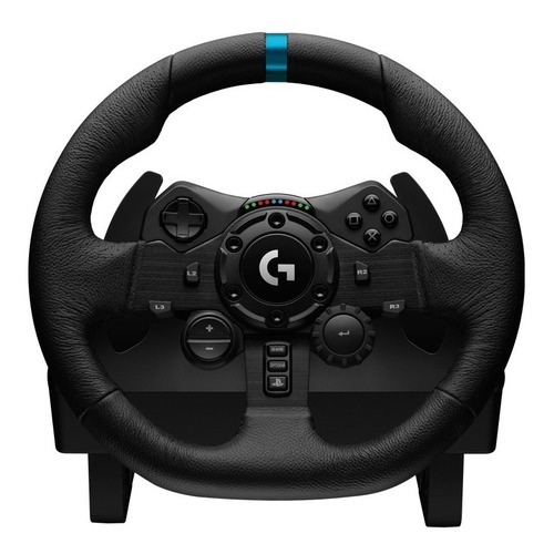 volante logitech g923 gamer + pedalera racing ps4 pc cuotas