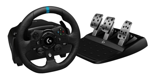 volante logitech g923 gamer + pedalera racing xbox pc new