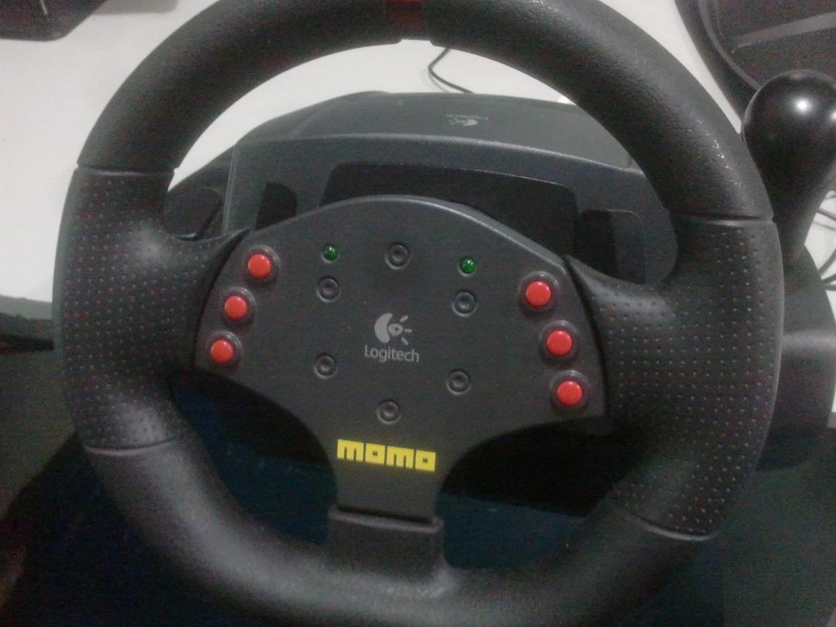ab0619b8c67 Volante Logitech Momo Racing Force Feedback - Bs. 5.000,00 en ...