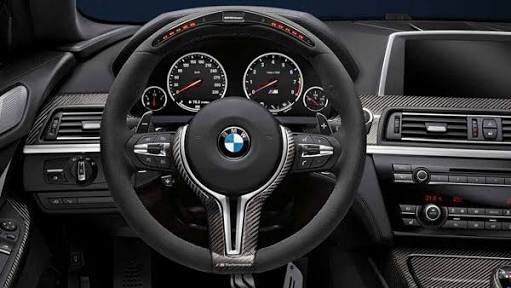 Volante M Performance Para Bmw Mm3 M4 M5 M6 X6 X6m
