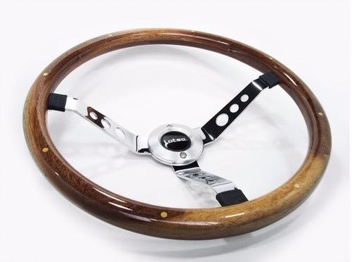 volante madeira big block wood lotse 400m fiat 147 ano 81