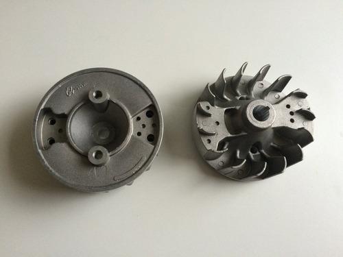 volante magnético para roçadeira 43cc motor 2 tempos