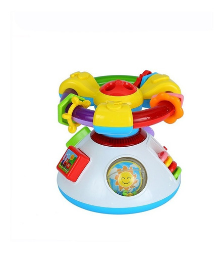 volante musical proyector para bebes learning fun