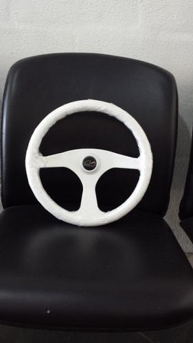 volante naútico branco