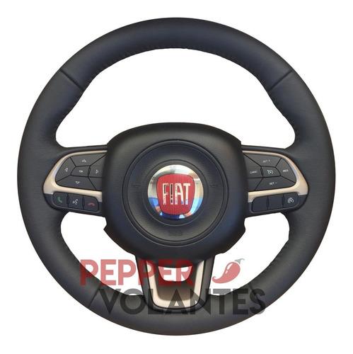 volante original fiat toro couro multifuncional strada palio