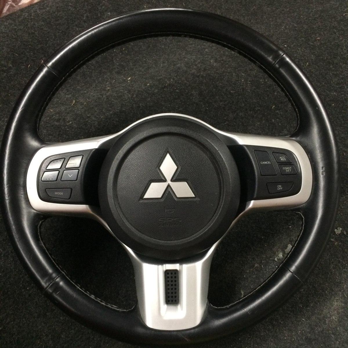 Volante Original Mitsubishi Lancer Evolution X Com Airbag. Carregando Zoom.