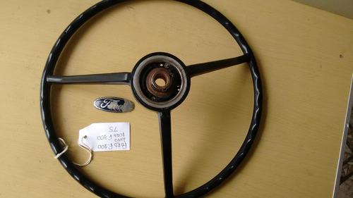 volante original usado ford f-100 luxo e f-350 dos anos 70