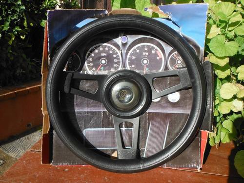 volante para auto grant color negro