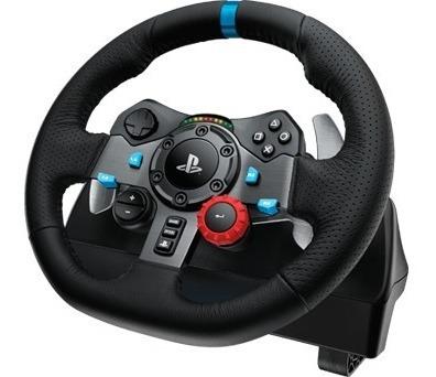 volante + pedales logitech g29 driving force para ps4 ps3