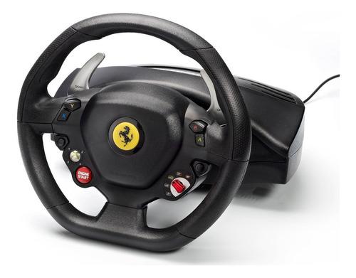 volante pedales pc xbox 360 thrustmaster ferrari 458 italia